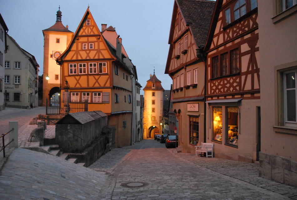 Экскурсия в Ротенбург ан дер Таубе