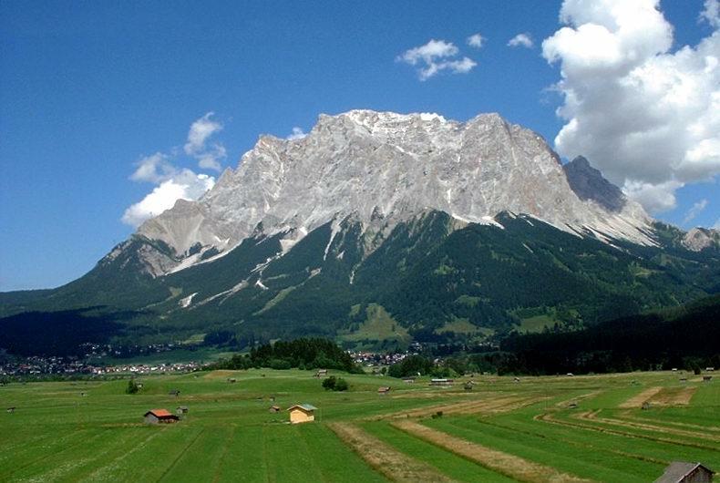 Экскурсия в Гармиш-Партенкирхен и на гору Цугшпитце