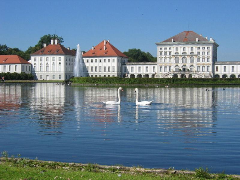 Посещение музея летней резиденции Баварских королей Нимфенбург