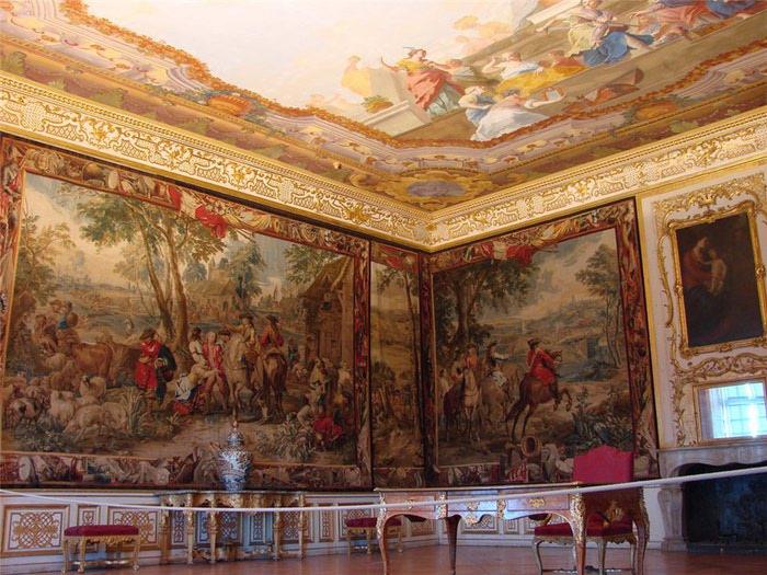 Посещение музея летней резиденции Шляйсхайм