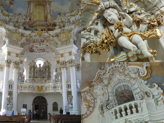 Экскурсия в Альпы, замок Линдерхоф и замок Нойшванштайн, церковь Виескирхе
