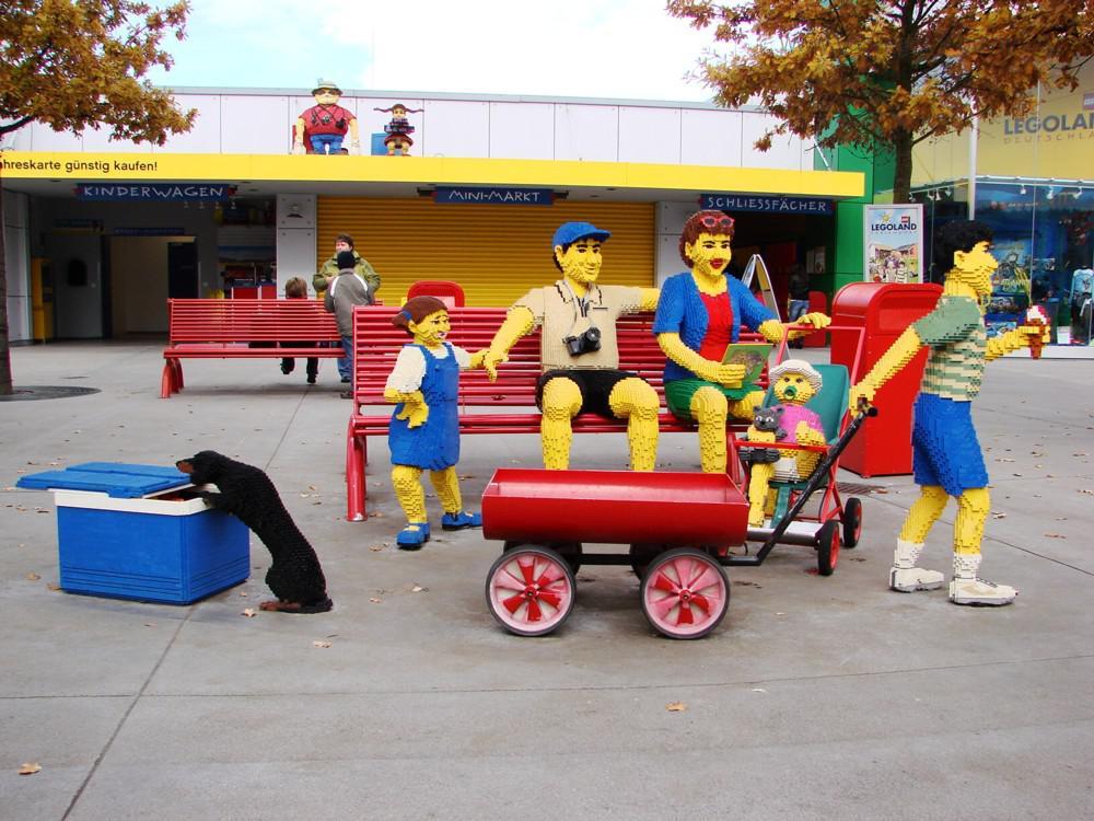 Посещение парка Леголенд (Legoland)